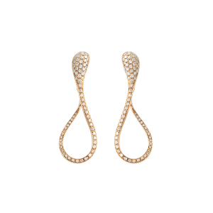 Earrings in diamonds cm. 5