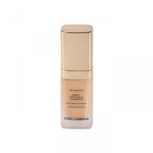 Dolce & Gabbana The Foundation Perfect Matte Liquid Foundation Natural Glow 100 Spf20 30ml