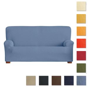 Copridivano 3 posti elasticizzato MILLERIGHE da 180 a 250 cm - vari colori