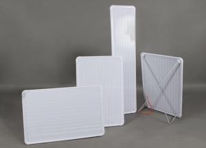 Pannelli riscaldanti in policarbonato per riscaldamento versatile