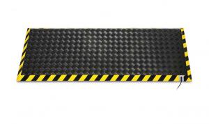 Pedane riscaldanti in lamiera zincata per  ambienti  voluminosi , certificazioni BEAB approvate