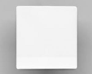 Weiße Grundstrahlplatte