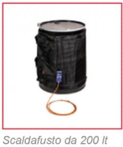 - Fasce  scaldanti per  fusti  e serbatoi termostatici , tecnologia di sicurezza .-