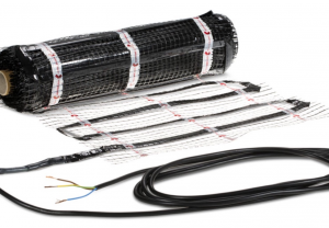 Electric radiant floor heating: quick and easy assembly.price € / m2.