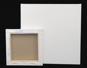Tele Gallery in Misto Lino - profilo telaio 4 cm -Tele Gallery Misto Lino Bianche per dipingere - Linea 40