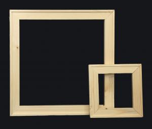 Telai per tele - Stampe - Gallery - 17 mm in legno di abete stagionato  -Telai per stampe su tela