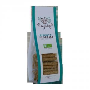 Biscotti Segale e Nocciole BIO - 200gr