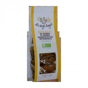 Biscotti di Farro e Farro monococco con Uvetta sultanina BIO - 200gr