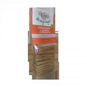 Cracker Quinoa e Amaranto Bio - 150gr