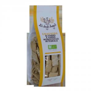 Cracker di Farro e Farro monococco naturali Bio - 200gr