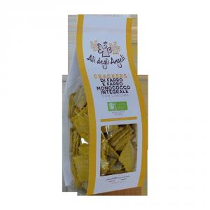 Cracker di Farro e Farro monococco con Curcuma Bio - 200gr