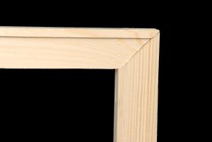 Listelli per Telai 20 x 55 mm - Listelli in legno - Listelli con angoli ad incastro 45 gradi