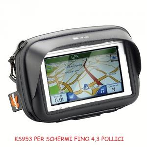 PORTA NAVIGATORE / SMARTPHONE  KAPPA WATERPROOF da MANUBRIO per MOTO e SCOOTER.