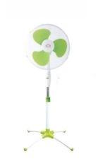Ventilatore a Piantana Colonna 3 Velocita Oscillante Pala 40cm verde