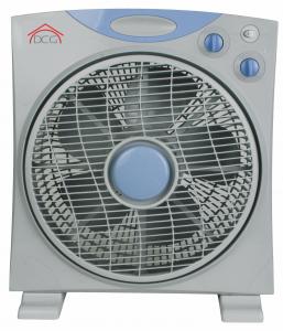Ventilatore Box Fan Pala 40cm Griglia rotante Frontale