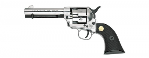 SINGLE ACTION BLANK REVOLVER TOP FIRING SILVER CAL. 380MM