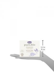 Chicco, Balsamo protettivo idratante per bambini, al burro biologico di karitè, 75 ml