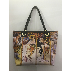 Merinda shopper bag Art line woman