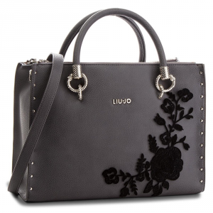 Hand and shoulder bag Liu Jo DARSENA A68045 E0022 GRAPE JUICE