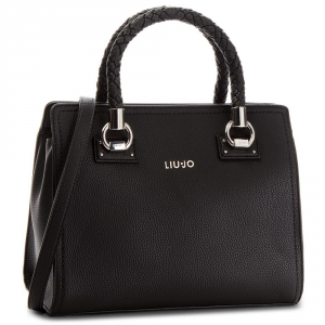 Hand and shoulder bag Liu Jo MANHATTAN A68100 E0011 NERO