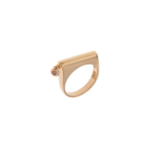 Ring in 18k gold and diamond