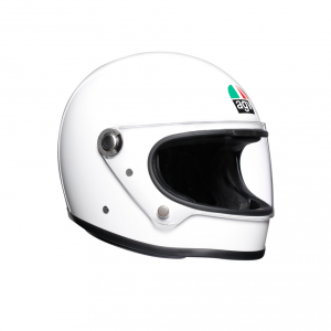 Casco integrale AGV Legends X3000 E2205 SOLID in fibra Bianco