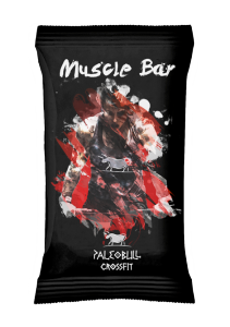 PaleoBull Peach and Coconut - The Bar with Natural Source of Protein Egg - No Gluten-Dairy-Legumes
