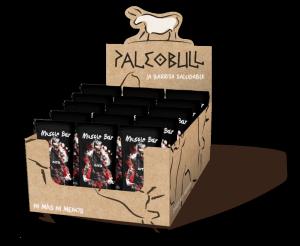 PaleoBull - Confezione da 15 pezzi di Barrette Pesca e Cocco