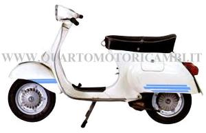 142721100 Serie adesivi fregi Piaggio Vespa Et3 125cc 610194M