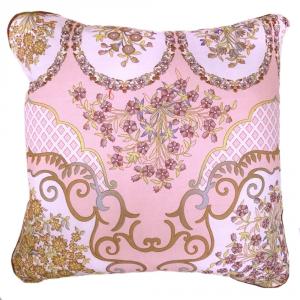 Fodera per cuscino arredo BASSETTI Granfoulard 40x40 cm MURSIA 5 rosa