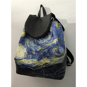 Merinda Art Line Woman Backpack