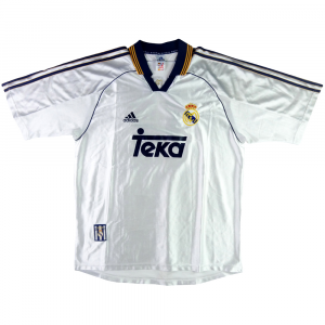 1998-00 Real Madrid Maglia Home M