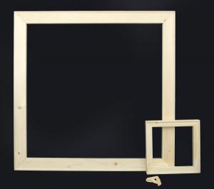 Telai per tele 28mm - Stampe - Gallery - 2,8 cm in legno di abete stagionato  - Telai per stampe su tela