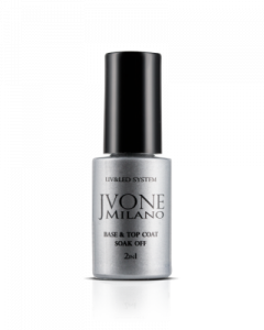 Jvone Milano - Soak Off - BASE & TOP COAT 5ml