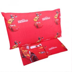 Completo lenzuola letto singolo 1 piazza Disney CARS puro cotone