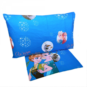 Completo lenzuola letto singolo 1 piazza Disney FROZEN puro cotone