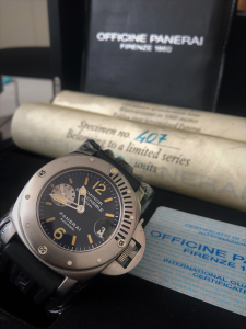 Orologio Officine Panerai Luminor Submersible 1000M Limited Edition