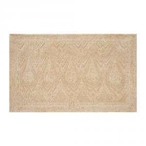Roberto Cavalli tappeto da bagno DECO' sabbia spugna di puro cotone