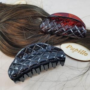Pinza f.capelli plastica cm9  retinata