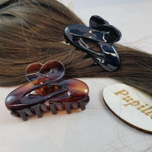 Pinza f.capelli plastica mm65