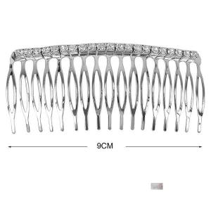 pettinino metalòlo strass cm9