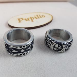 anello acciaio 2 modelli