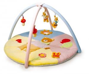 Tappeto palestrina attività con sonagli per neonato