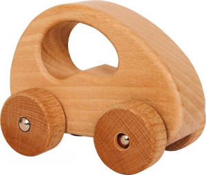 Auto in legno naturale design sportivo Gioco bambini