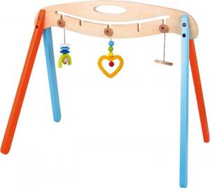 Giostrina in legno attività,gioco tattico e motorio neonato
