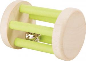 Sonaglio Campanello gioco tattile in legno per neonato