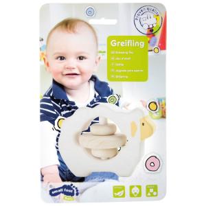 Gioco Tattile in legno per bambini neonato Pecorella