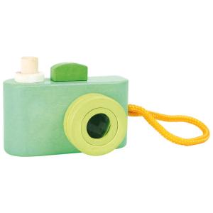 Macchina fotografica in legno giocattolo per neonato