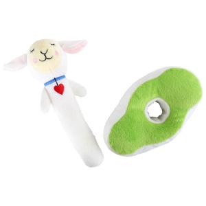 Sonaglio per neonato in peluche pecorella Lotta Legler 10021