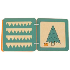 Libro in legno per bambini Lex (Fantasie)